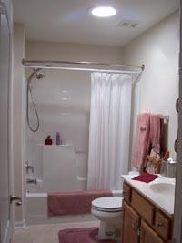 Solatube In The Bathroom